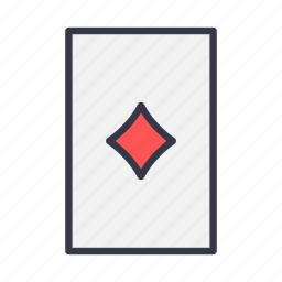 blackjack, card, casino, diamond, gamble, playing, poker icon