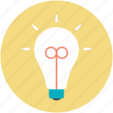 bulb, electric light, electrical bulb, light bulb, luminaire icon