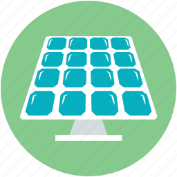 renewable energy, solar cell, solar energy panel, solar panel, solar system icon