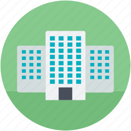 apartments, building, flats, industry, real estate icon