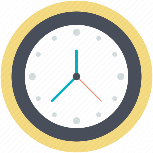 clock, time, time keeper, wall clock, watch icon