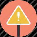 caution, exclamation, exclamation mark, hazard, warning