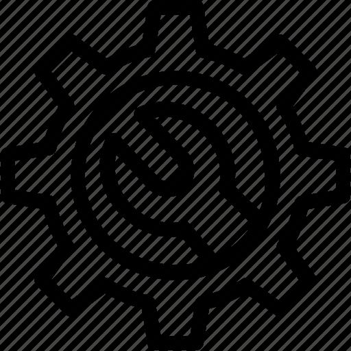 cog, cogwheel, configuration, gear, preferences icon