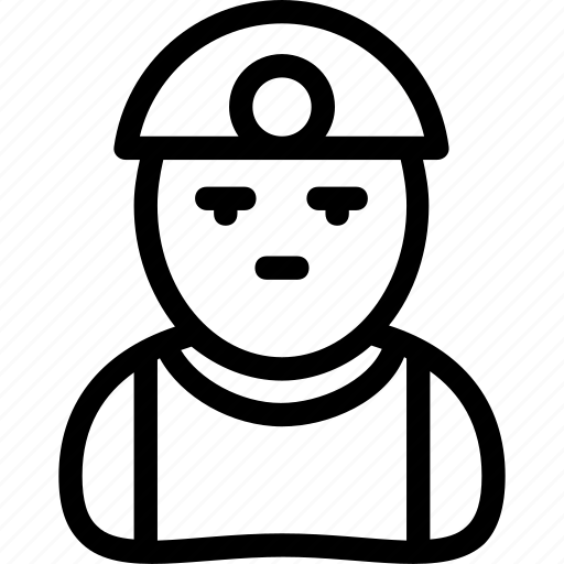 architect, avatar, engineer, labor, worker icon