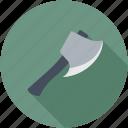 axe, hand tool, lumberjack, tomahawk, weapon icon