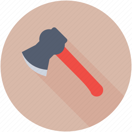 Tomahawk, weapon, lumberjack, hand tool, axe icon - Download