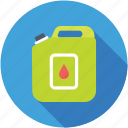 gasoline, jerry can, lubricant, oil can, petrol can icon