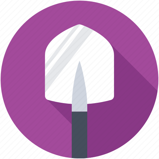 Hand tool, digging trowel, shovel, trowel, gardening tools icon