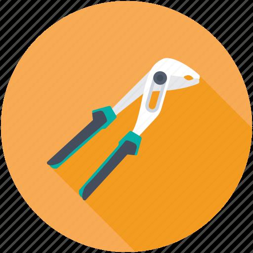 Repair tool, plier, hand tool, mechanic, pincer icon