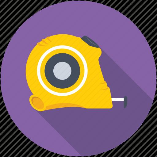 Centimeter, inches tape, seamstress, measuring tape, measurement icon