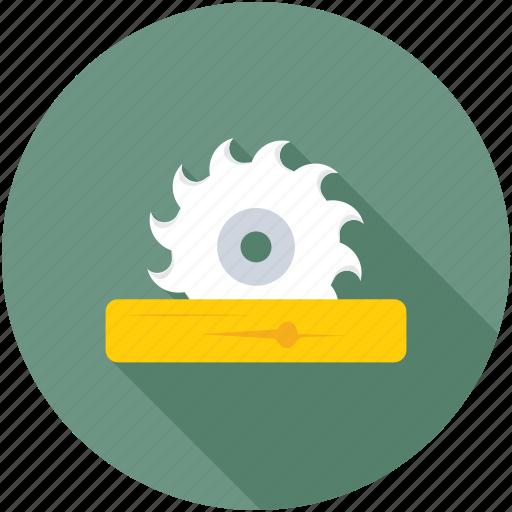 circular saw, saw machine, table saw, woodworking machine, woodworking saw icon