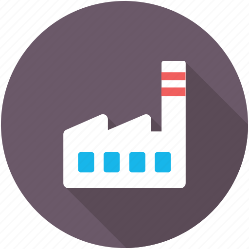 Industry, power plant, corporate, factory, manufacturer icon
