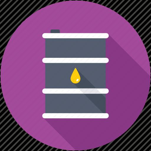 crude oil, industry, oil barrel, oil container, oil drum icon