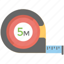 centimeter, inches tape, measurement, measuring tape, seamstress icon