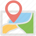 gps, location, location pointer, map, navigation icon