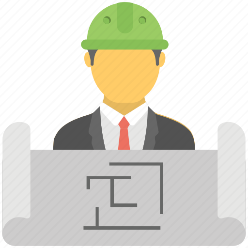 Architect, Builder, Constructor, Engineer Icon