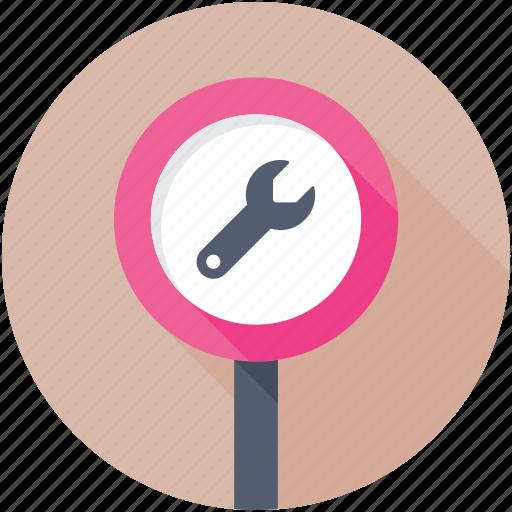billboard, road sign, under construction, under maintenance, work in progress icon