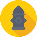 fire protection, fire pump, fireplug, hydrant, johnny pump icon