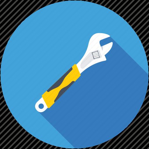 handyman, repairing, spanner, tool, wrench icon