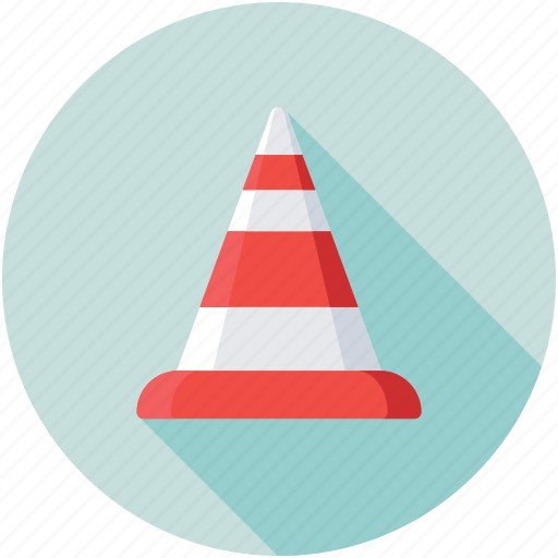 road cone, safety, traffic cone, traffic sign, under construction icon