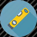construction level tool, level tool, leveler, measuring tool, spirit level icon