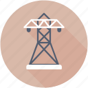 electricity, power mast, electric pylon, power tower, transmission tower