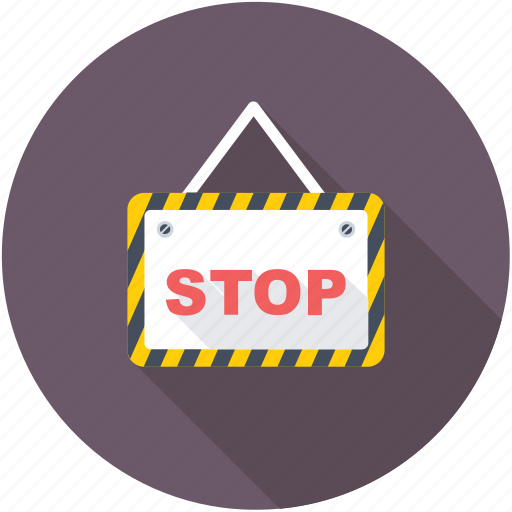 do not enter, no entry, prohibition, stop sign, warning sign icon