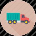 shipping van, industrial truck, logistic truck, cargo truck, trailer van