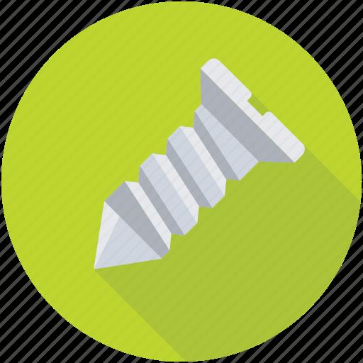 Instrument, industry, construction, maintenance, screw icon