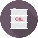 crude oil, industry, oil barrel, oil container, oil drum icon