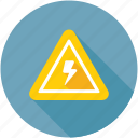 electric sign, high voltage, warning sign, caution, voltage warning