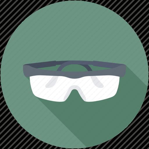 protective eyewear, safety eyewear, safety glasses, welder glasses, welding goggles icon