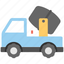 concrete buggy, concrete mixer, concrete vehicle, construction buggy, construction vehicle icon