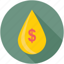 petrol price, passive income, economy, money drop, droplet
