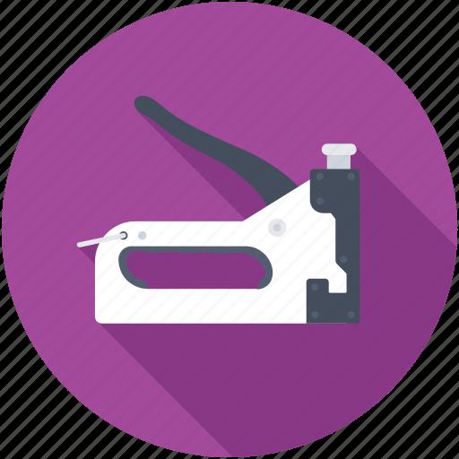 carpentry tool, pincer, repairing, riveters gun, stapler icon