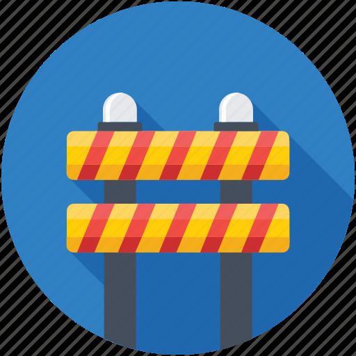 barricade, barrier, under construction, under maintenance, work in progress icon