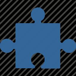 component, construct, item, part, plug in, plugin, puzzle element icon