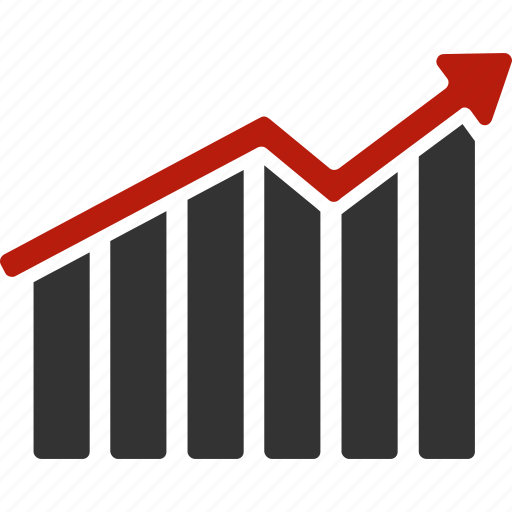analysis, bar chart, diagram, graph, report, statistics, stock market icon