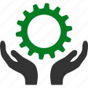 maintenance, project, service, settings, support, control, gear