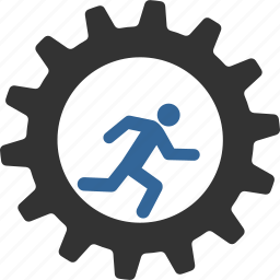 business, job, life, rat run, runner, running, work icon