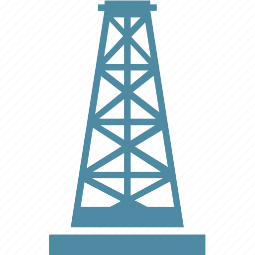 construction, fuel, gas, industry, oil icon