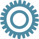 circle, engineer, gear, industry, mechanism, settings, tool icon
