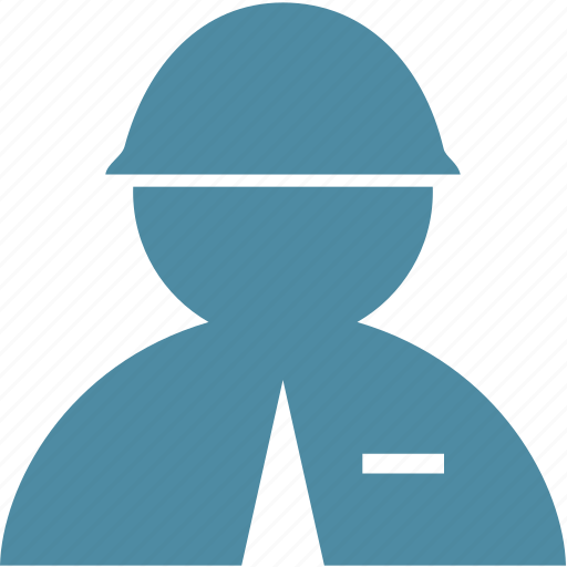 builder, helmet, man, person, user icon