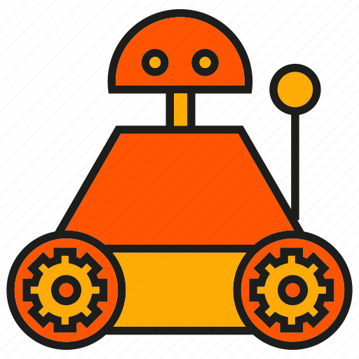 cute, industry, mechanic, rescue robot, robot, robotic arm, toy icon