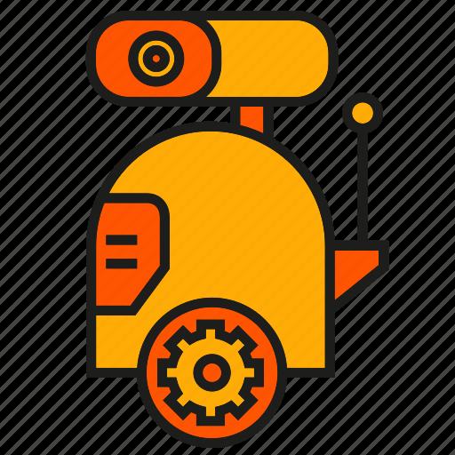 cute, machine, mechanic, robot, robotic arm, toy icon