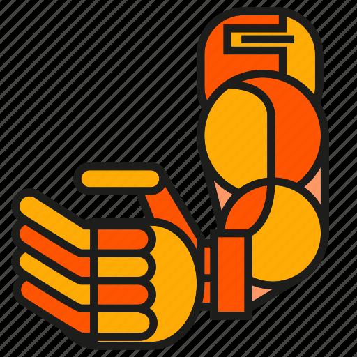 arm, industry, machine, mechanic, robot, robotic arm, robotic hand icon