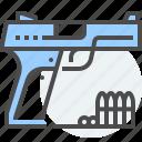 armament, firearms, gun, gunmaker, military, weapon icon