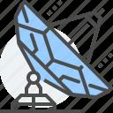dish, mobile, phone, satellite, signal, telecommunication icon