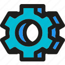 cogwheel, configuration, gear, gearwheel, options, preferences, settings icon