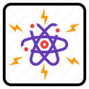 atomic, energy, industry, nuclear, power icon
